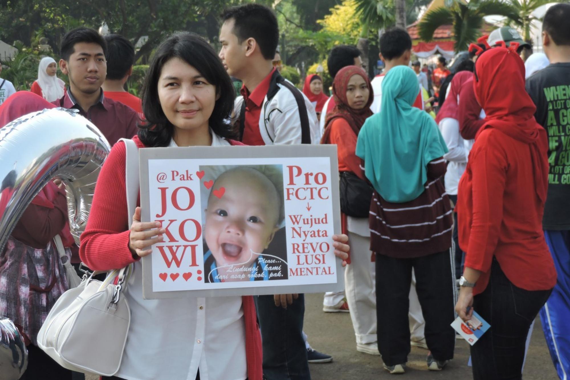 Aksi FCTC Lindungi Anak