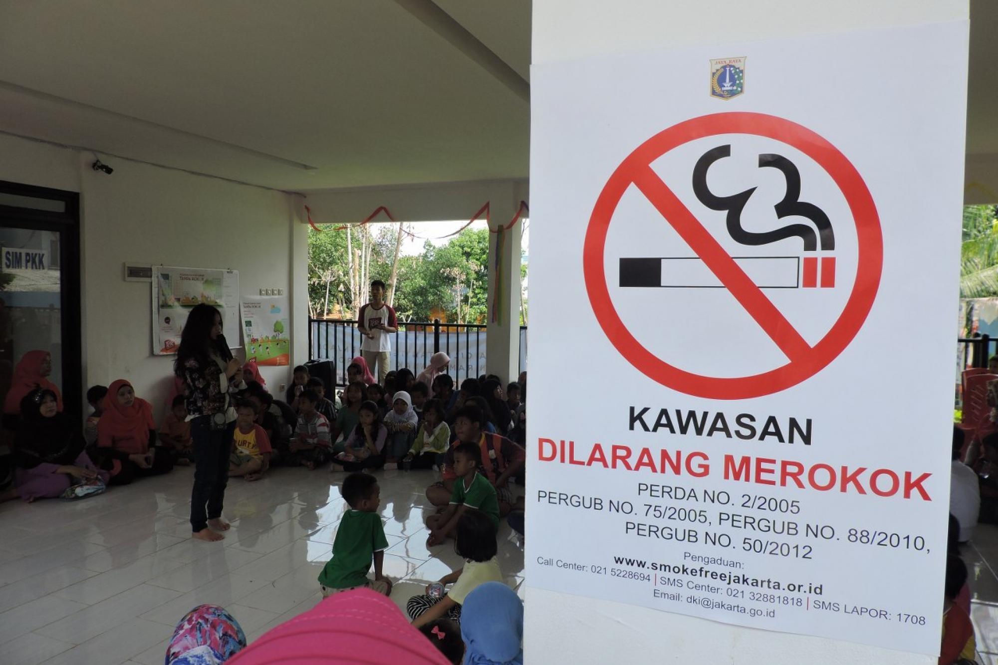 Taman Ramah Anak Tanpa Iklan Rokok