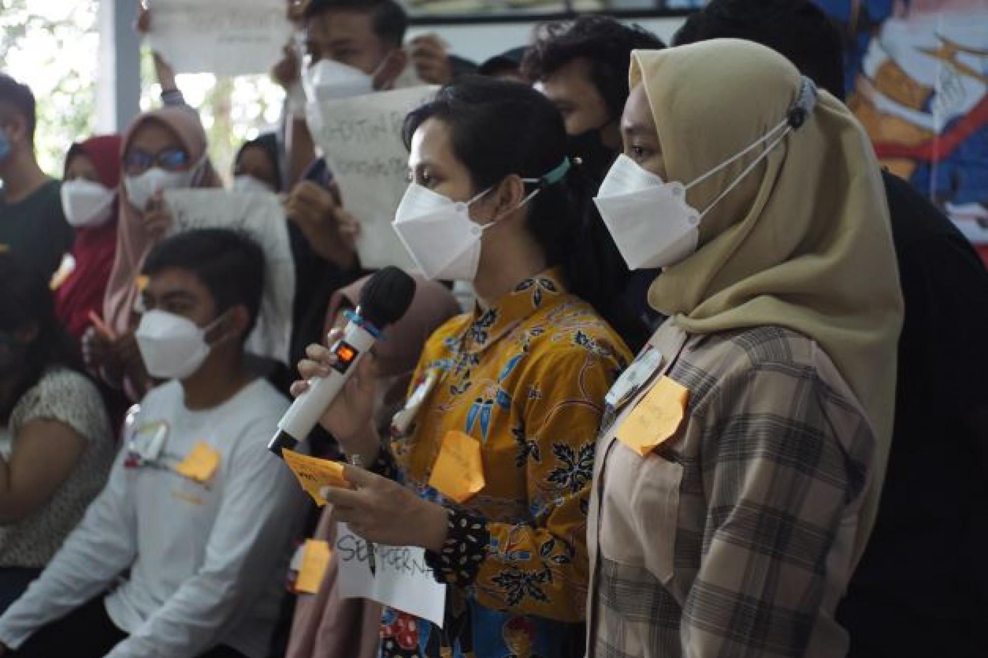 SIARAN PERS: Aksi Nyata Pembaharu Muda Mendorong Regulasi Pengendalian Tembakau yang Kuat untuk Melindungi Anak