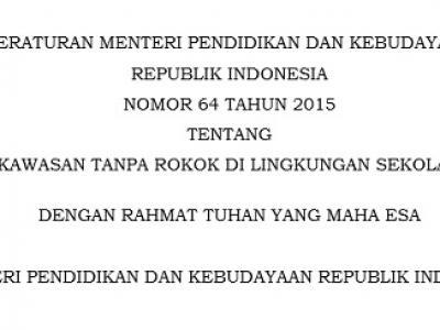 Permendikbud RI Nomor 64 Tahun 2015