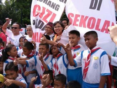 Street of Hope, Aksi Galang Donasi untuk Perangi Kurang Gizi