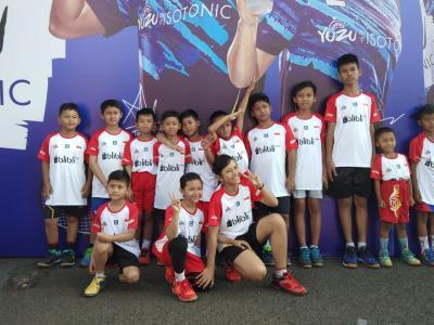 Yayasan Lentera Anak Apresiasi Audisi Beasiswa Bulutangkis di Purwokerto