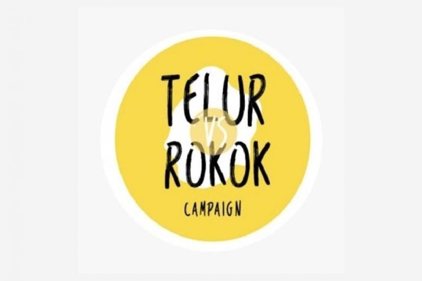Kampanye Festival Telur Vs Rokok